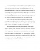 Essay on Steroids