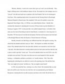 Business Interview Essay