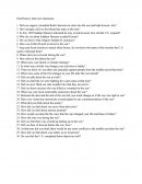Oral History Interview Questions