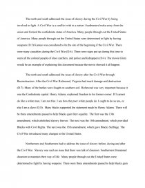 Sectionalism in the united states essay recruitment dissertation sample