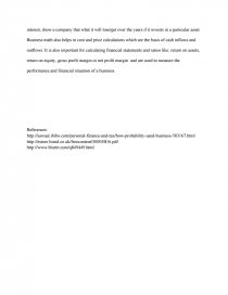 Essay on commercial aspects of mathematics an essay on religion and science
