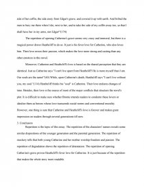 repetition in wuthering heights   term paper essay preview repetition in wuthering heights zoom zoom zoom zoom
