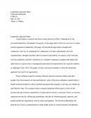 Ldr 531 - Leadership Approach Paper