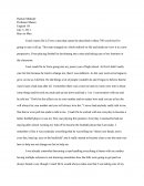 Eng 101 - Essay on Boys to Men