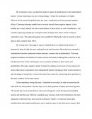 Self-Assessment/reflective Essay of My Exploratory Essay