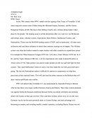 World War 1 Essay