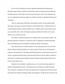 hypnosis psychology pdf