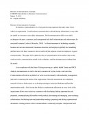 Com 285 - Business Communications Concept Paper