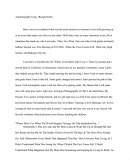 Autobiography Essay (rough Draft)