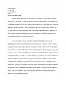 Research Paper - Natural Selection to Rebel