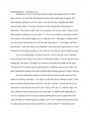 Reflection Essay - the Span of Life