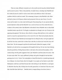 macbeth victim or villain essay zoom