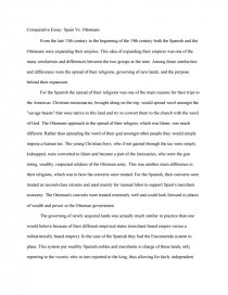 Cause And Effect Essays On Divorce  Essay On Fire Prevention also Sample Argumentative Essay Outline Comparative Essay Spain Vs Ottomans  Essay Essay Questions For The Great Gatsby