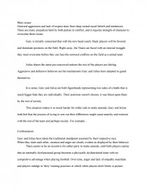 Remember the titans conflict essay referenced essay writing