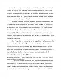 Interview Essays  How To Write An Essay On Yourself also Example Persuasive Essay Topics Why Study International Business  Essay How To Write A Scientific Essay