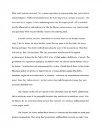 High School Essay Example Zoom Zoom Zoom Research Essay Proposal Sample also Essays Term Papers Mayan Aztec Inca Compare Contrast  Essay Essay Writing Thesis Statement