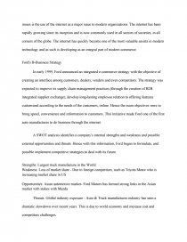 In An Essay What Is A Thesis Statement  How To Write A Thesis Statement For An Essay also Persuasive Essay Topics High School Students Ford  An Integrated Ebusiness Strategy  Case Study Sample Persuasive Essay High School