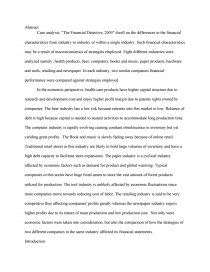the financial detective 2005 pdf