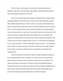 civil war   essay essay preview civil war