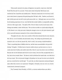 The demon lover essay