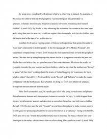 Sample Of English Essay  Essay On English Subject also High School Experience Essay A Paper Examining The Symbolism In A Modest Proposal By  Essay For High School Application Examples