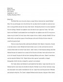 Blind Side Essay