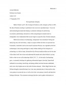 Anthro 2ac Essay - Proving Human Antiquity