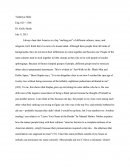 "Response Paper - America a Big ""melting Pot"""