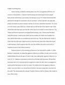 Chapter 8 Latent Learning Essay