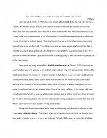 interpersonal communication in forrest gump   term paper essay preview interpersonal communication in forrest gump zoom zoom  zoom zoom