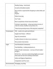 Pestle Analysis - Heinz-Kraft - Coursework
