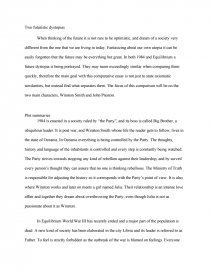 The Kite Runner Essay Thesis  How To Write A Proposal Essay also Hamlet Essay Thesis Comparative Essay  Vs Equilibrium  Bookmovie Report What Is A Synthesis Essay