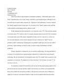 Education Reflection Essay